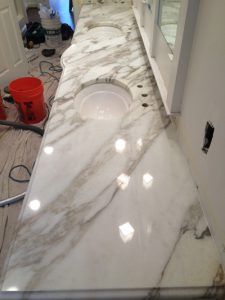 Italian Marble Finish by Zoltan Stone Works
