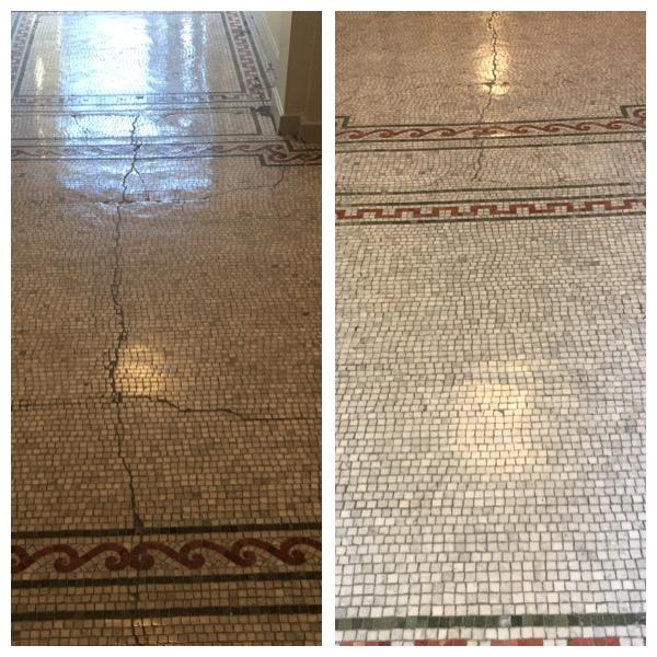 Vintage Marble Floor Restoration in Washington, DC