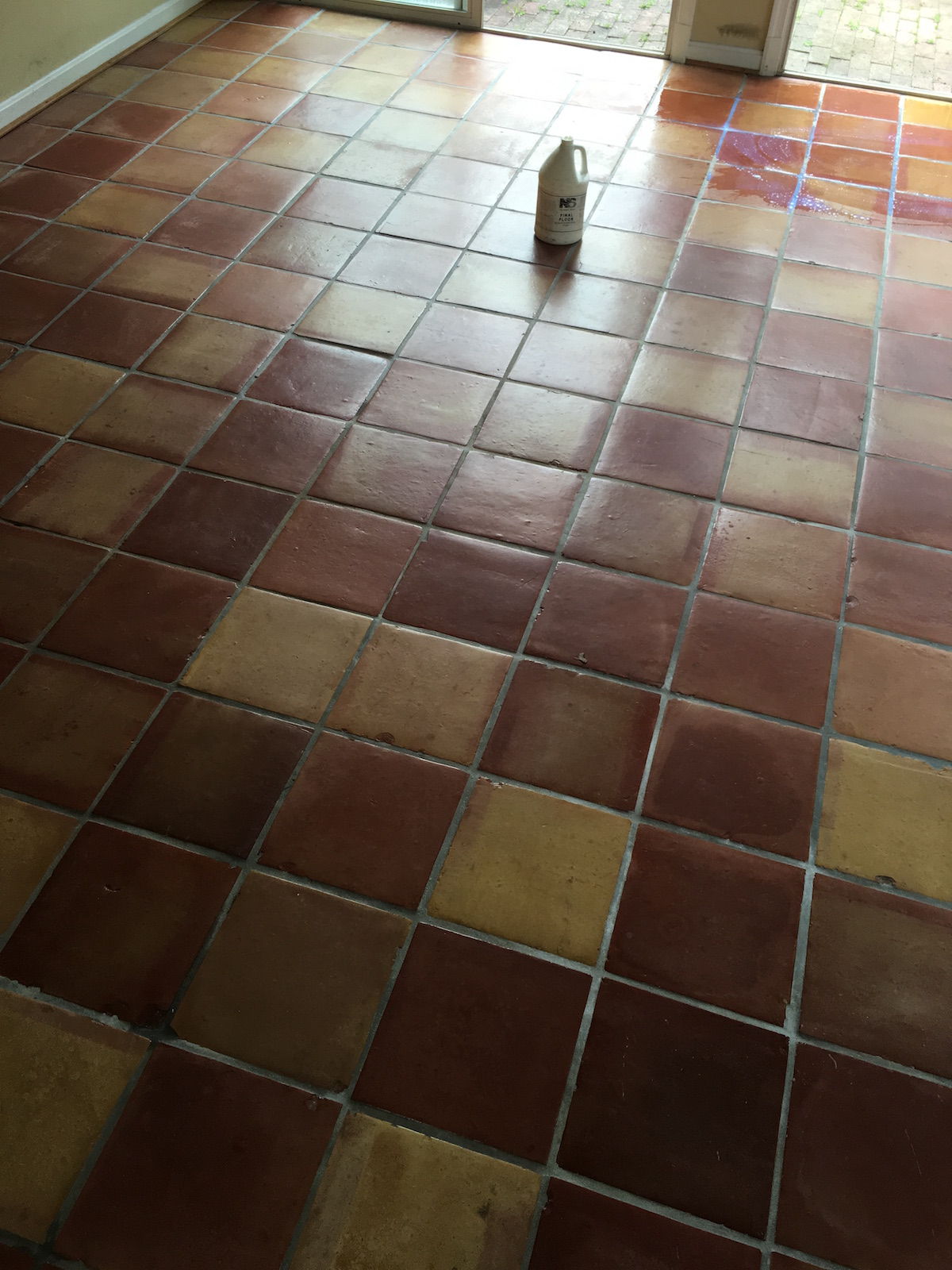 Mexican Tile Restoration In Silver Springs Maryland