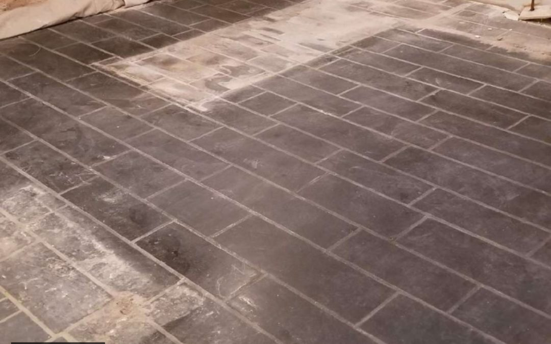 Replace or Restore Your Slate Floor?